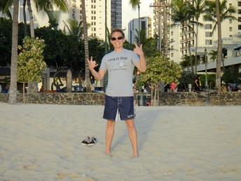 Waikiki beach, January 2011