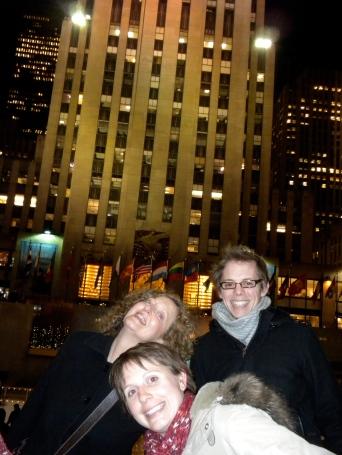 Rockefeller Centre with Steph & Gerarda