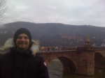Aidan, at the Heidelberg Bridge