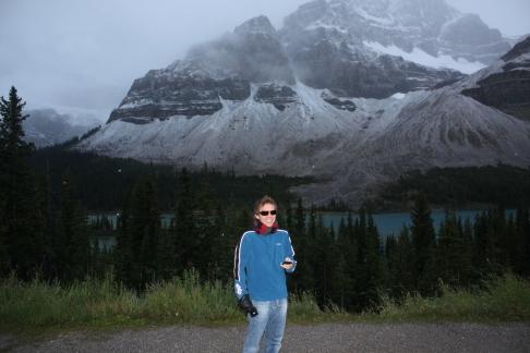 On the way to the glaciers, near Calgary, Alberta, September 2010