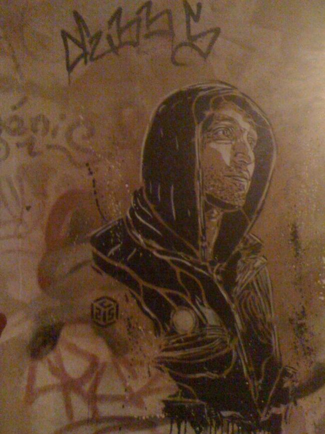 Graffiti in Prague, January 2010