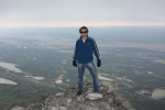 At the top of Yamnuska, September 2010