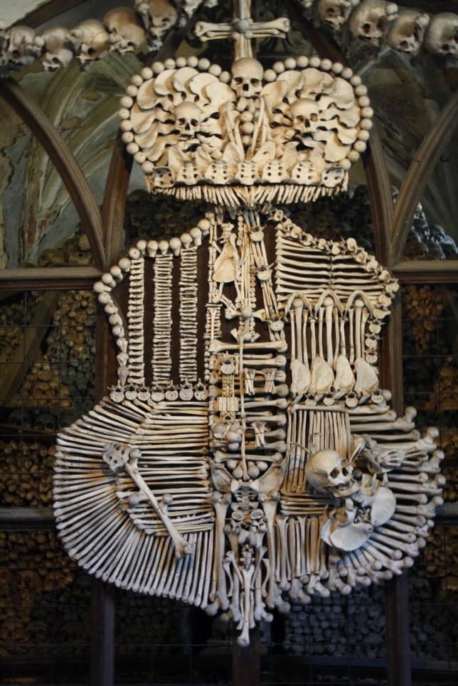 The Bone Church in Kutna Hora, June/July 2010