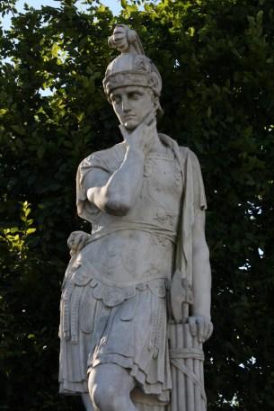 Statue; Vienna, July 2010
