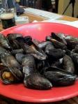 Mmmmm, mussels.