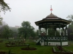 The gazebo in the public gardens