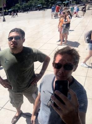 Being a tourist at the Millenium Bean