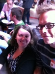 Me and @craft_zilla at #LunchUpGuelph. In the background - @TheRobCampbell and @Spike_Mobile