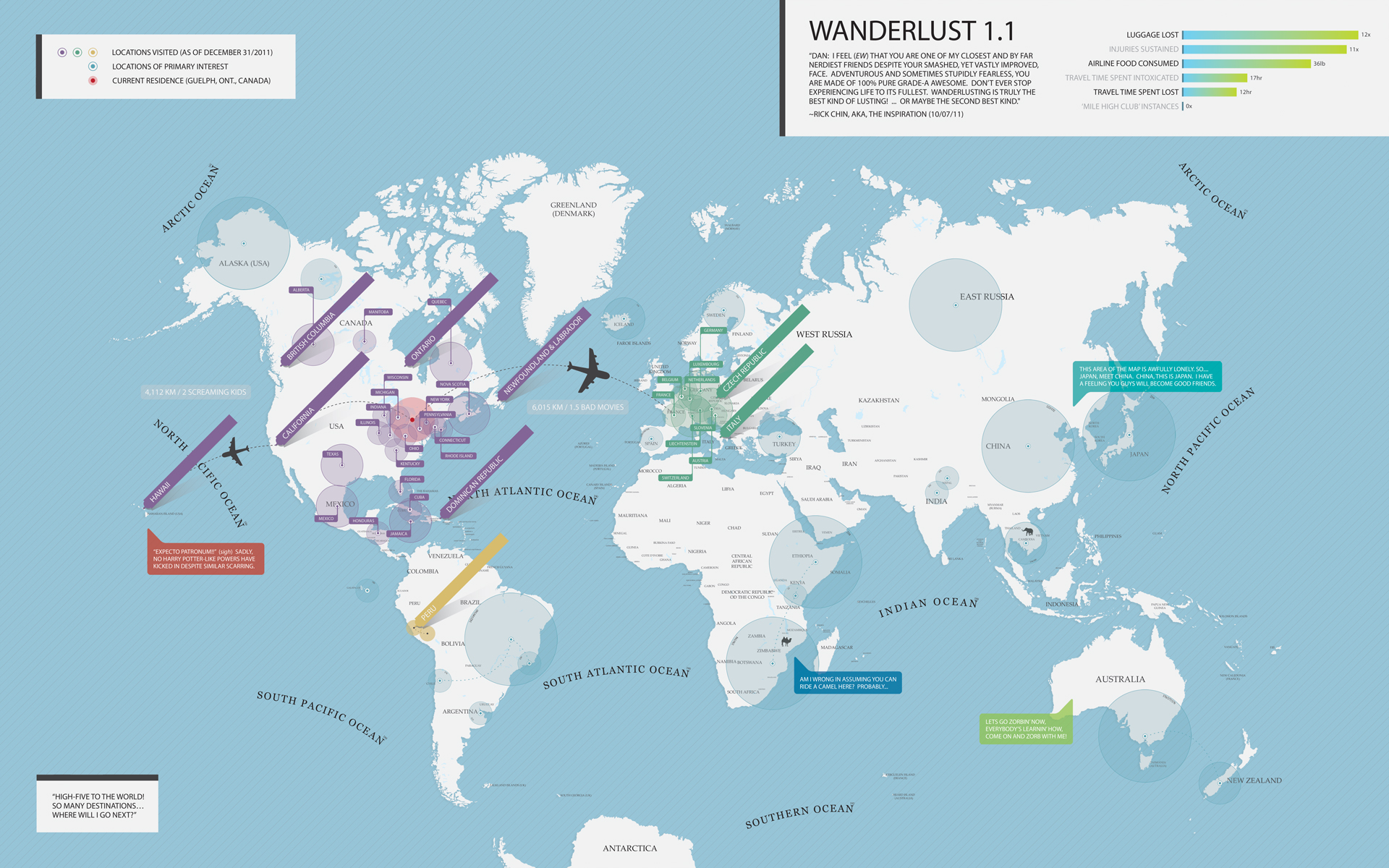 Wanderlust 1 1  Best map in the history of maps Wanderlust Word