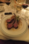 Rack of lamb at Maloney & Porcelli's - medium rare. YUM.