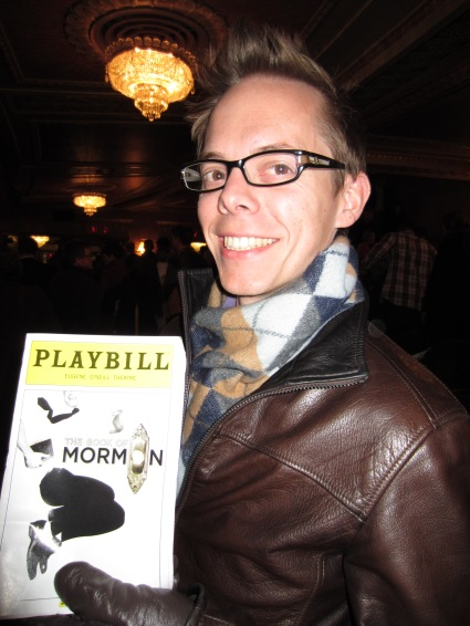 Prior to seeing the Book of Mormon. W00t!