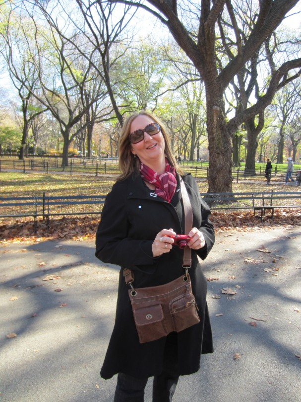 Dr. Gerarda in Central Park
