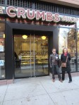 Breakfast of champions at Crumbs on day 2.