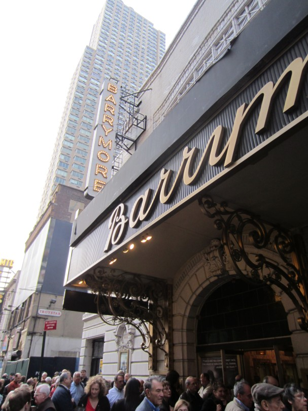 The Barrymore theatre.