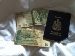 Have money, will travel. Except not with this passport, as it has expired.