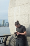 Getting some photos in Battery Park