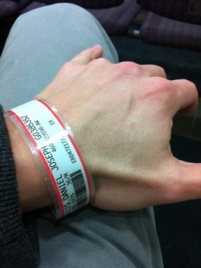 Just hanging out at the emergency room