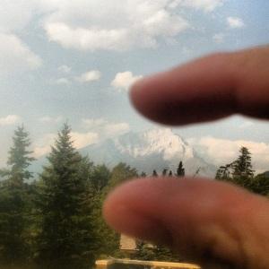 Pfffft. Cascade Mountain - you aren't so big.