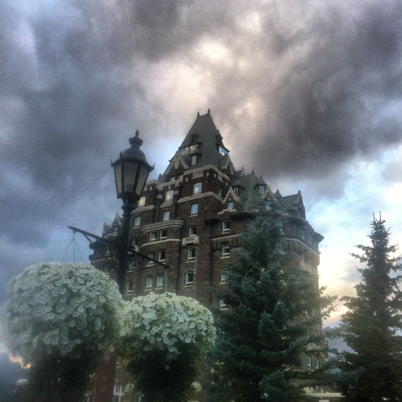 Our home for many days - the Fairmont Banff Springs hotel. Also known as Hogwarts.