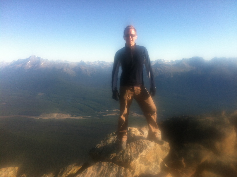 On top of Mount Fairview.