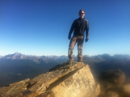 At the top of Mount Fairview.