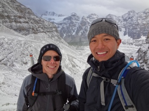 Rick and me near Sentinel Pass
