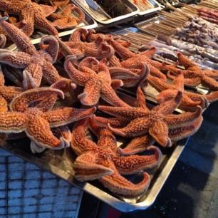 Starfishy fish. Deep fried please.