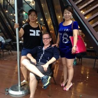 Making friends in Xi'an