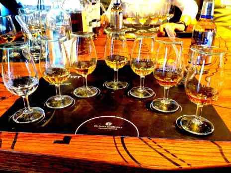 Tasting all the scotches at The Glenlivet